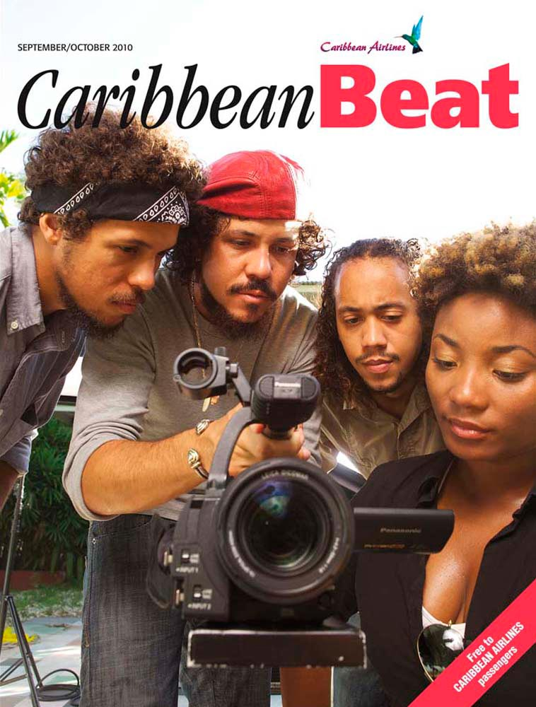 105 • The New Caribbean Cinema collective, September/October 2010. Photo courtesy Marlon James