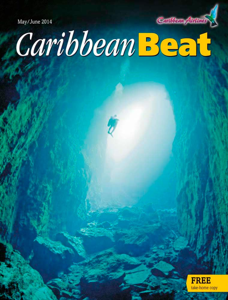 127 • Cave diving in Andros, the Bahamas, May/June 2014. Photo by Brian Kakuk