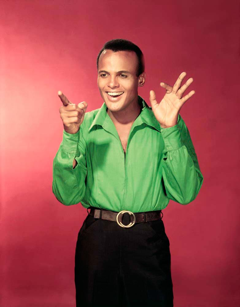 Cultural and political icon Harry Belafonte in the 1950s. Bettmann / Getty Images