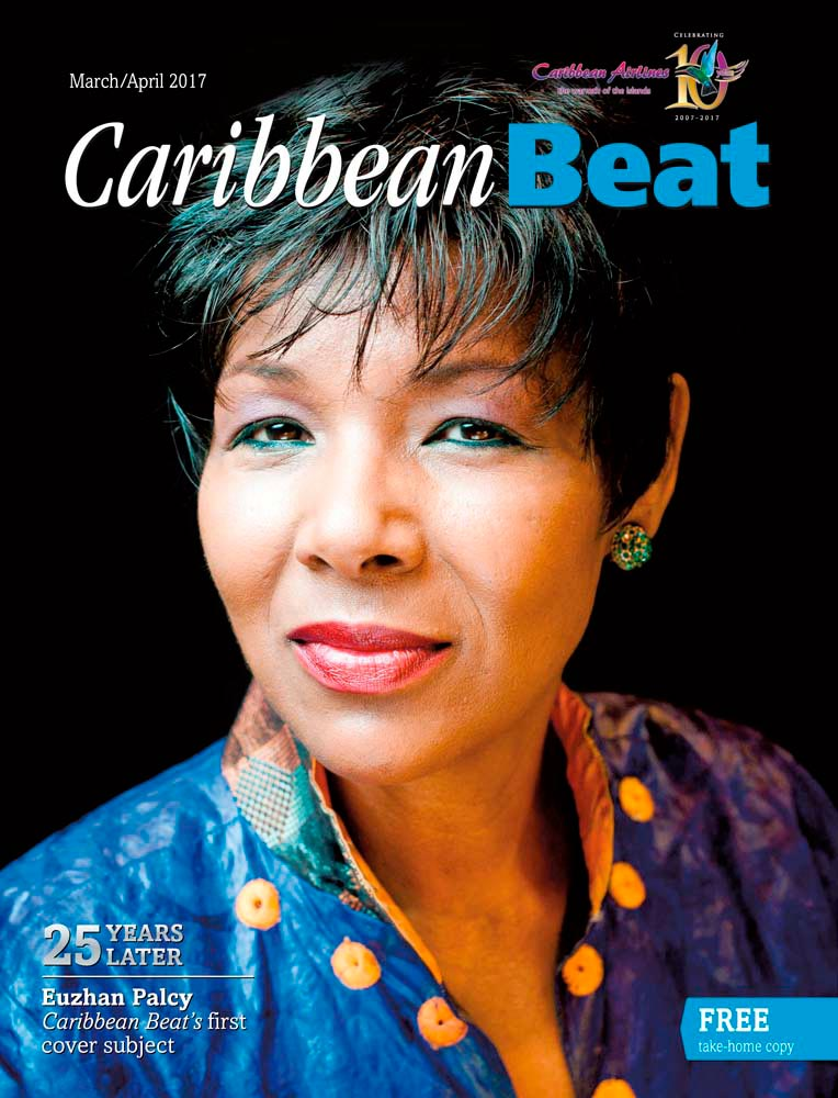 Martiniquan filmmaker Euzhan Palcy, twenty-five years after she appeared on the cover of the first Caribbean Beat. Photo ©Yannick Coupannec/Leemage