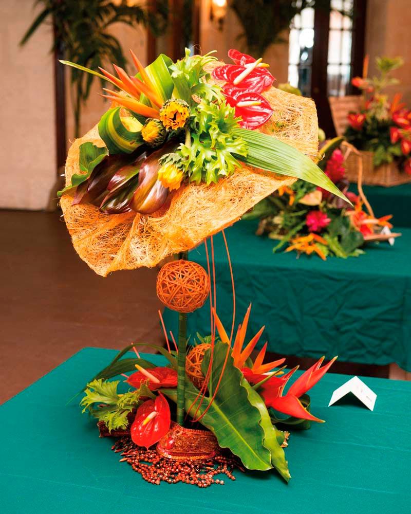 Photo courtesy Barbados Association of Flower Arrangers