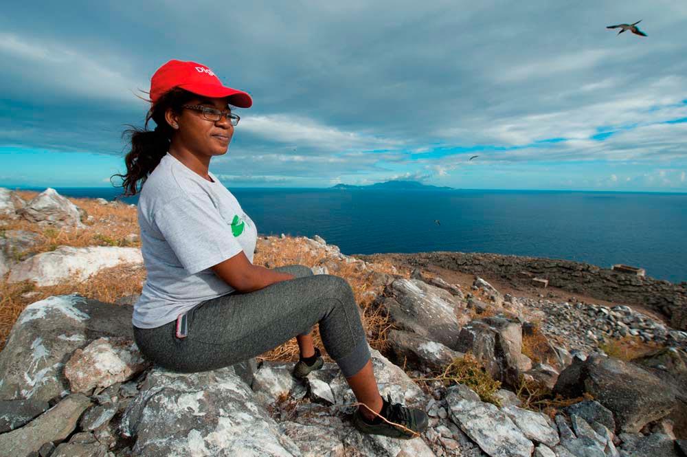 Shanna Challenger • Environmentalist • Antigua and Barbuda, Born 1995. Photo by Jeremy Holden courtesy Shanna Challenger