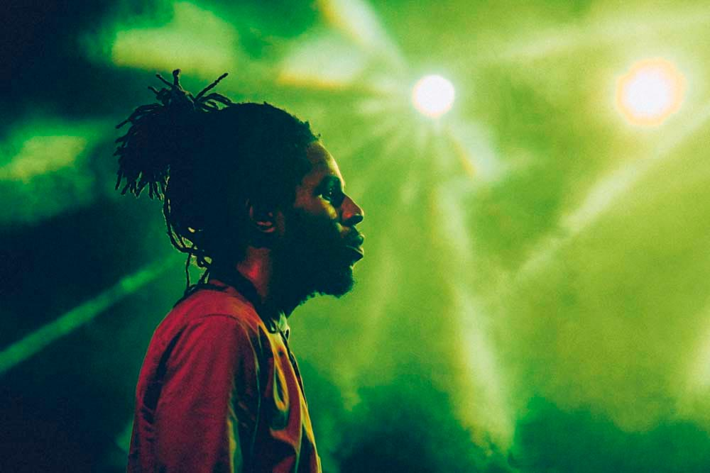 Chronixx (a.k.a. Jamar McNaughton) • Reggae artist • Jamaica, Born 1992. Photo by Nickii Kane