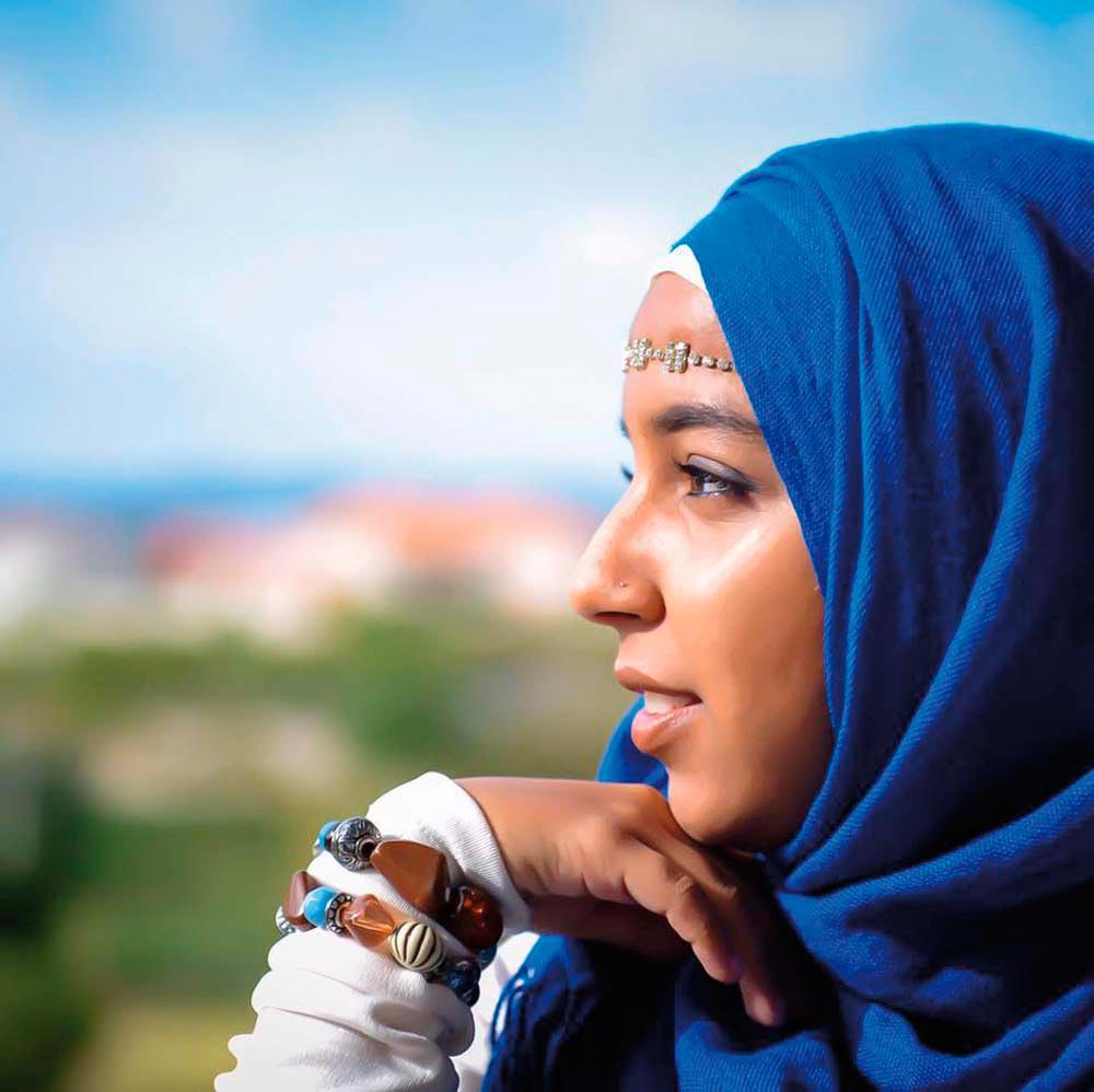 Firhaana Bulbulia • Activist • Barbados, Born 1994. Photo courtesy Firhaana Bulbulia