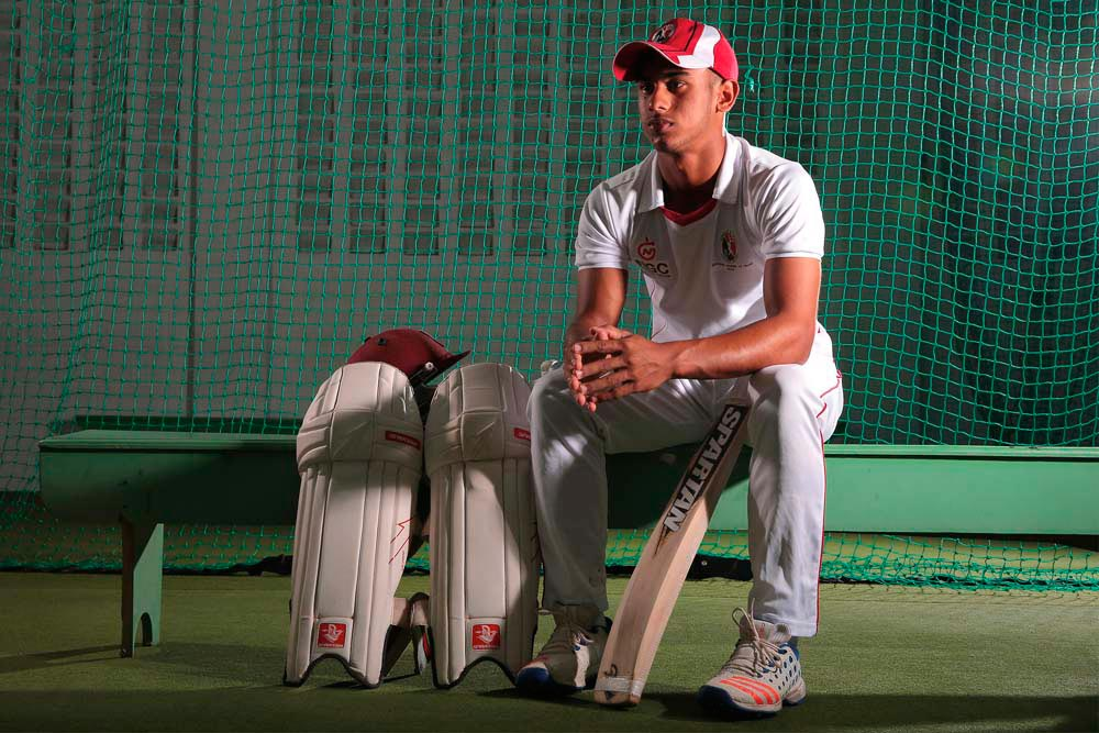 Kirstan Kallicharan • Cricketer • Trinidad and Tobago, Born 1999. Photo by Ash Allen Photography