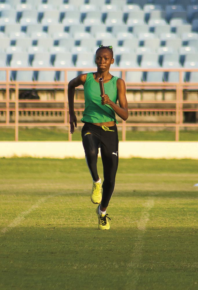 Meleni Rodney • Athlete • Grenada, Born 1998. Photo by Haron Forteau