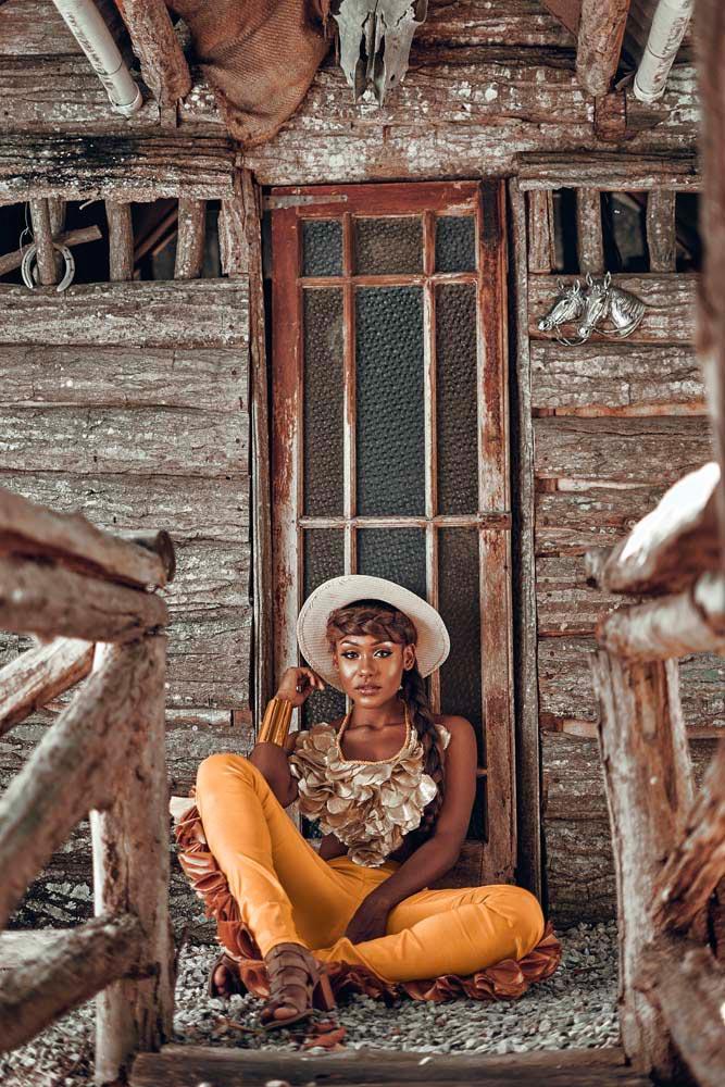 Nailah Blackman • Calypsonian and soca artist • Trinidad and Tobago, Born 1997. Photo by Idouglasphoto
