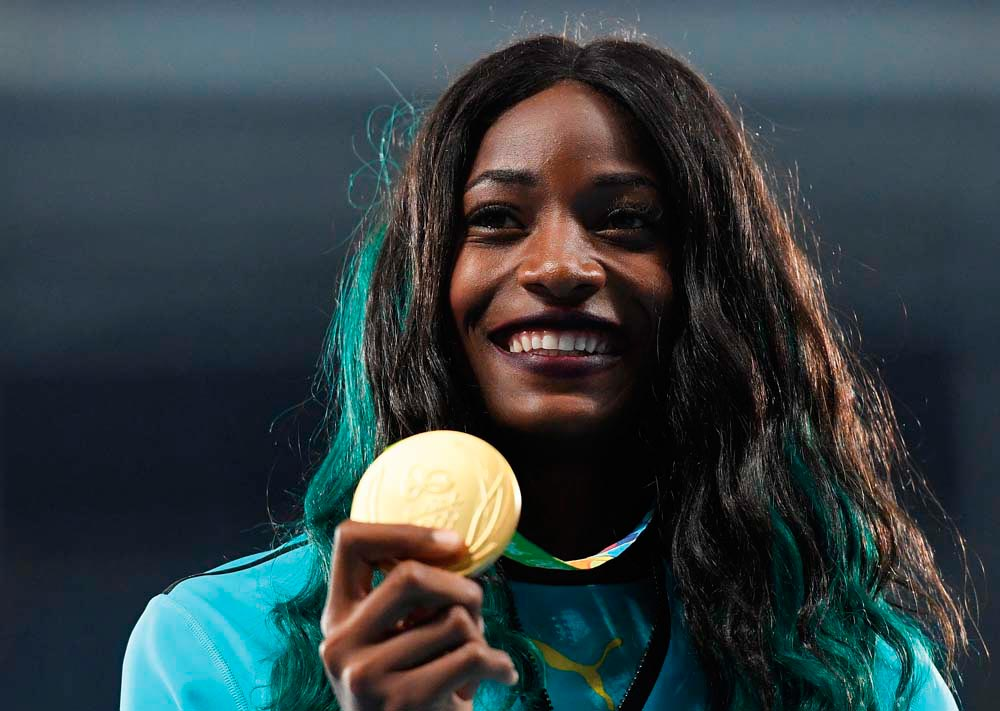 Shaunae Miller • Athlete • The Bahamas, Born 1994. Photo by Quinn Rooney / Getty