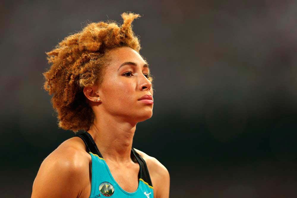 Jeanelle Scheper • Athlete • St Lucia, Born 1994. Photo by Patrick Smith / Getty