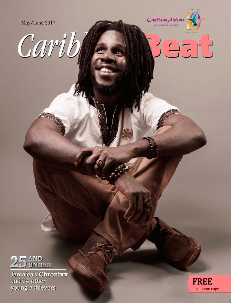 Jamaican reggae artist Chronnix. Photo by Nickii Kane
