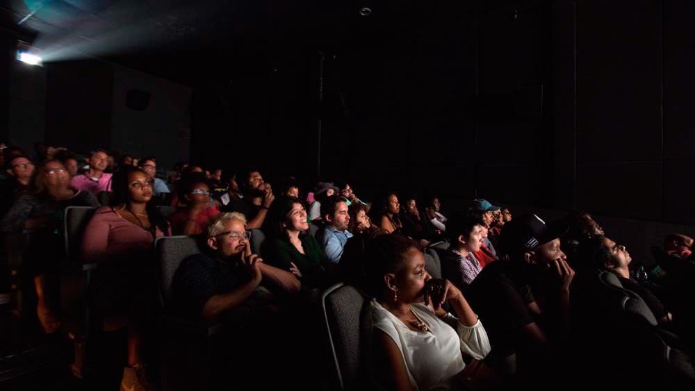A rapt audience at the 2016 Third Horizon Caribbean Film Festival. Photo courtesy Third Horizon