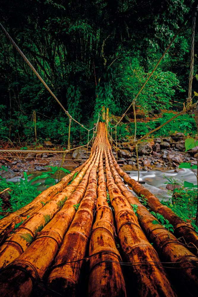 Bridge to adventure in the hills of St Vincent. Photo by MBrand85/Shutterstock.com