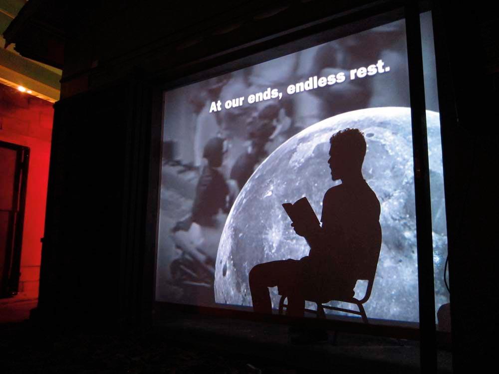 Performance at Alice Yard. Photo courtesy Alice Yard
