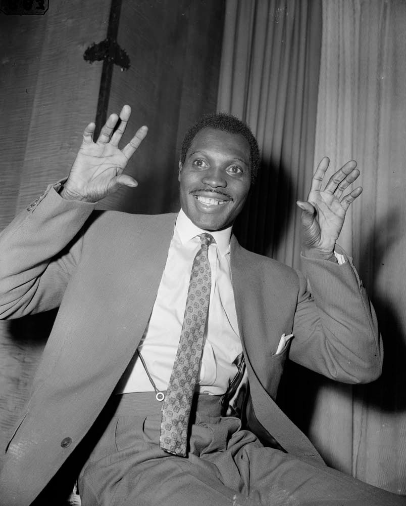 With ten wins, the late calypsonian Lord KItchener is T&T's all-time Road March champion. Photo by Ron Burton / Hulton Archive / Getty Images