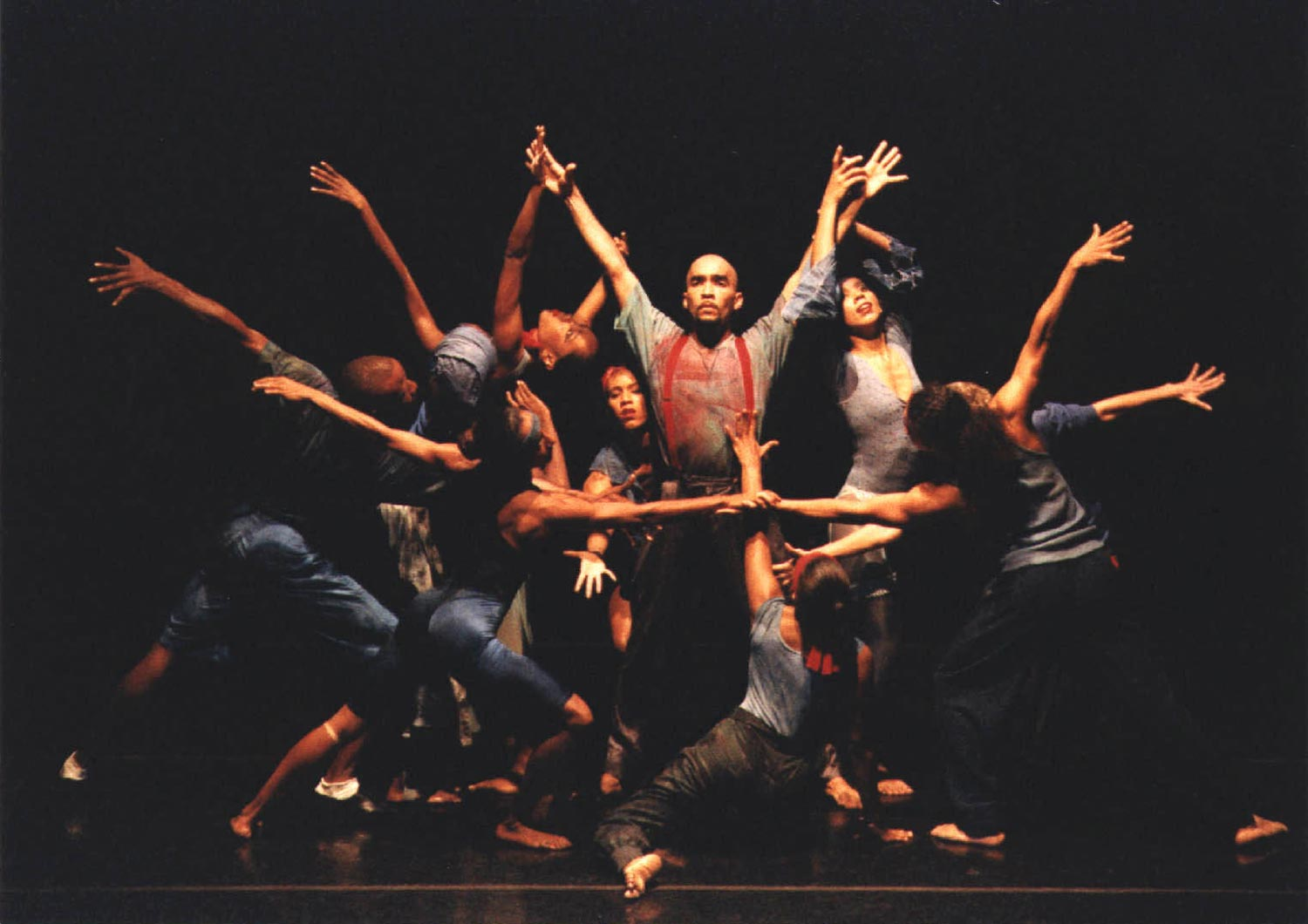 Footprints, choreographed by Monika Lawrence. Photograph by Denis Valentine