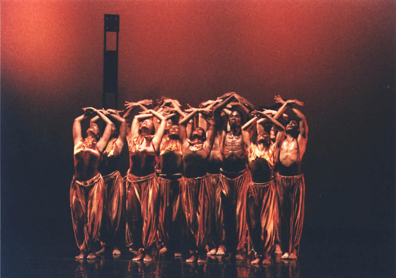 Blood Canticles, choreographed by Rex Nettleford. Photograph by Denis Valentine