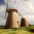 Betty's Hope, fully restored windmills; there are no sails during the hurricane season. Photo by Chris Huxley