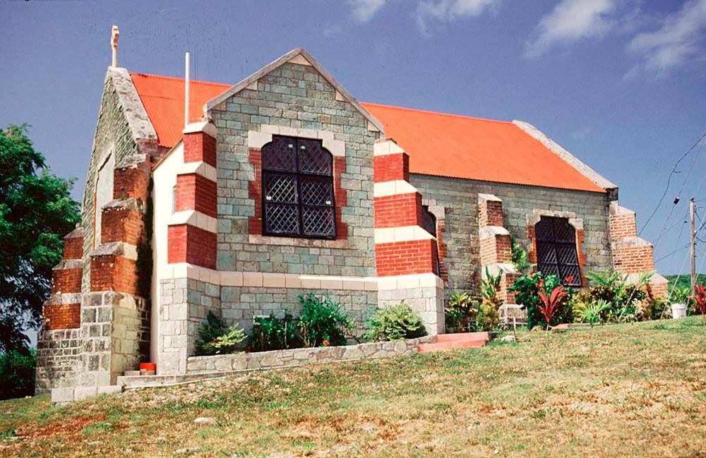 Liberta church. Photo by Chris Huxley