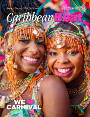 The January/February 2021 cover of Caribbean Beat magazine