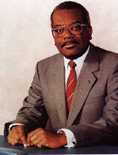 Trinidad born journalist Trevor McDonald