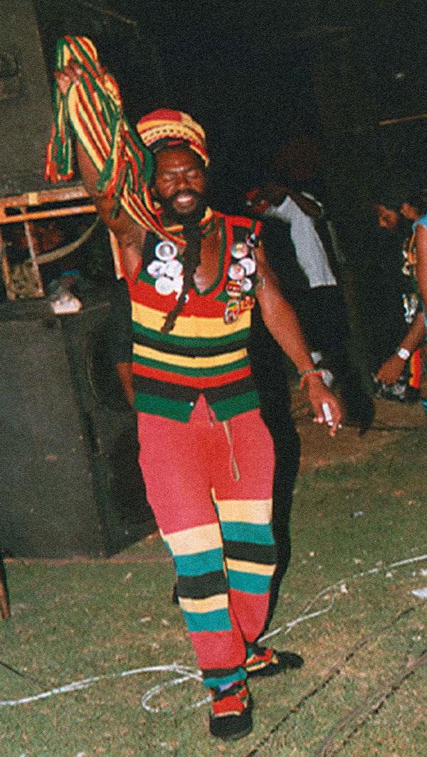 Dancehall concert, Trinidad. Photograph by Stephenson Westfield