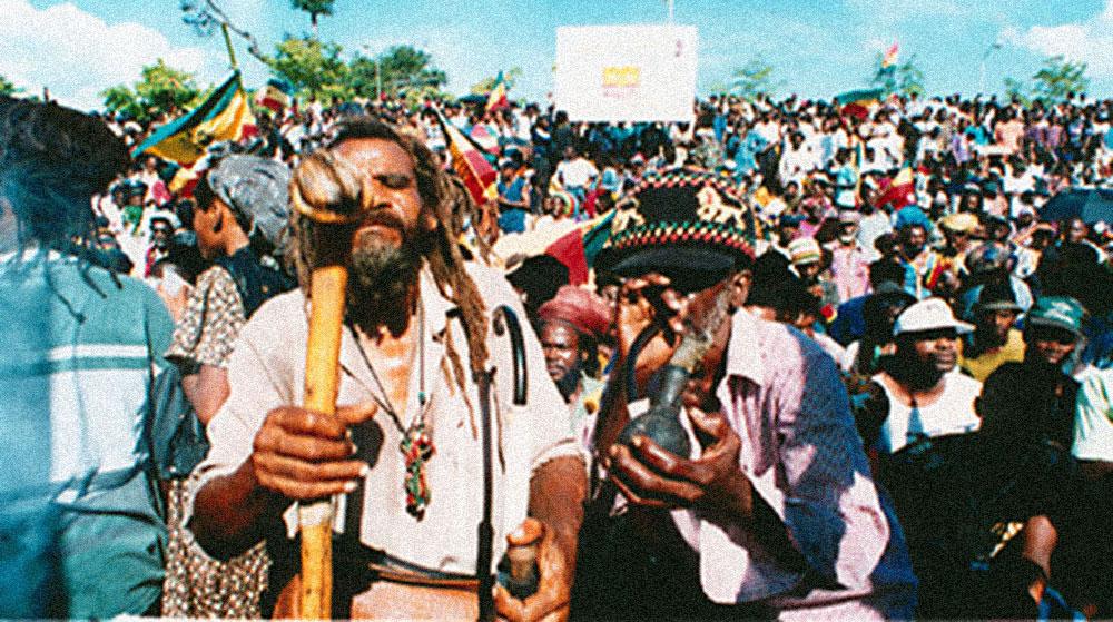 Legalise Marijuana March, Kingston, Jamaica. Photograph by Michael Gordon