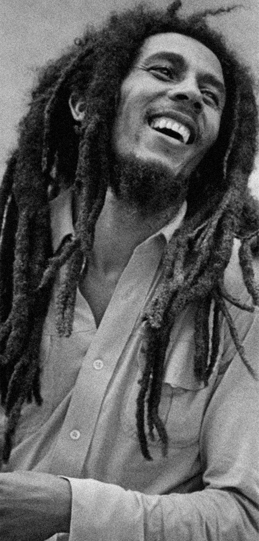 Bob Marley. Photograph by Adrian Boot