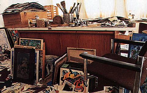 Llewellyn Xavier's studio