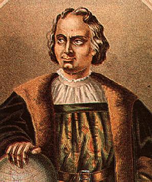 Cristóbal Colón, a portrait by R. Puiggari in De Lorques' biography