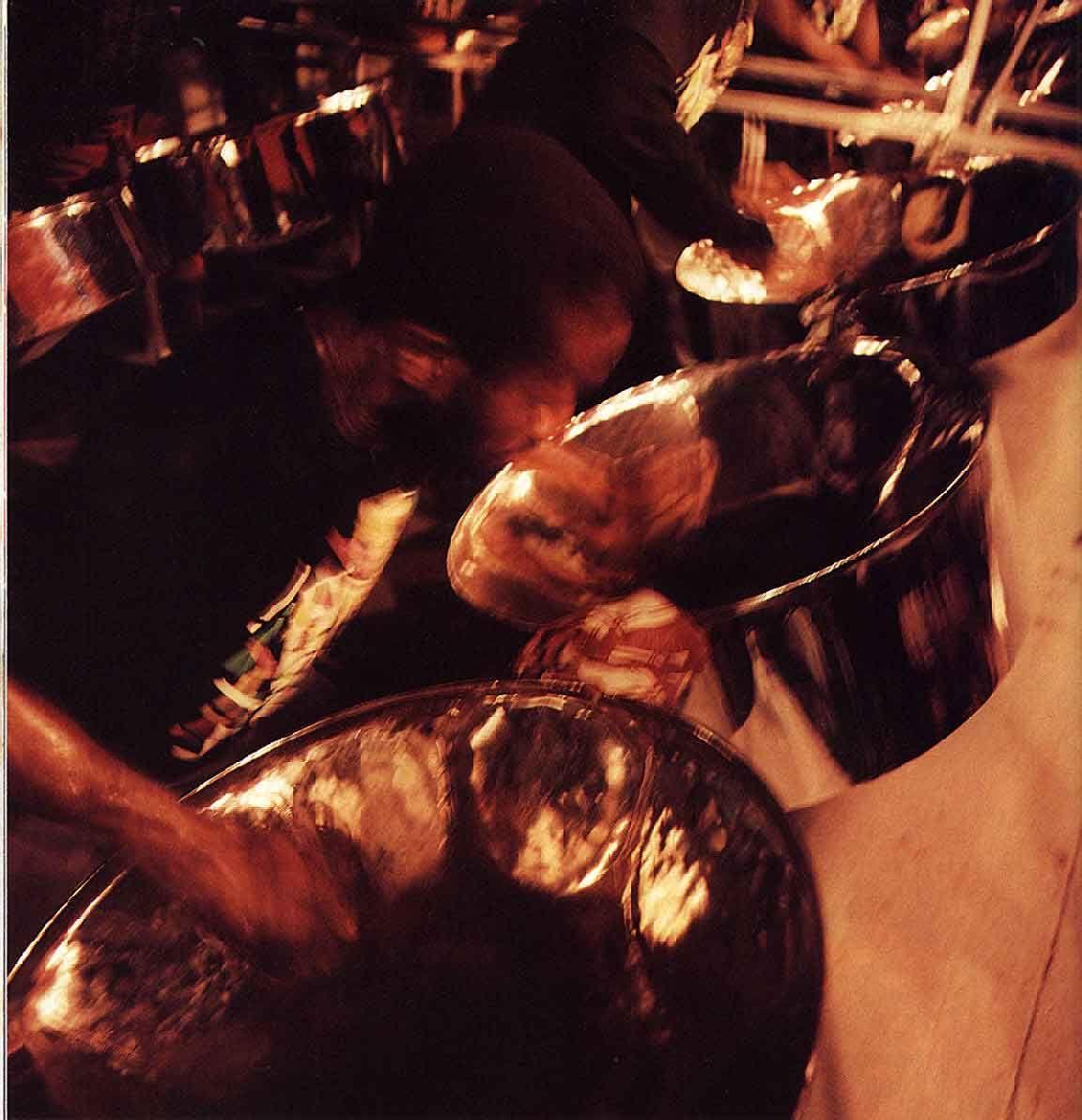 The steel pan. Photograph courtesy Pan Jazz Secretariat