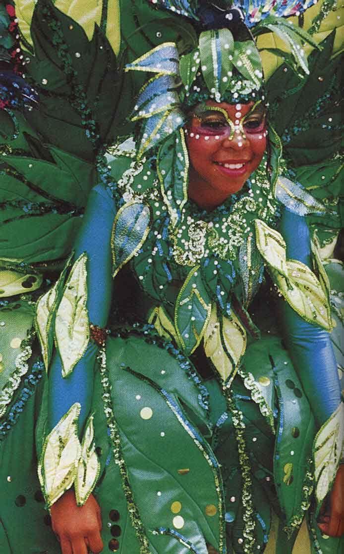 Trinidad Carnival. Photograph by Brian Weltman
