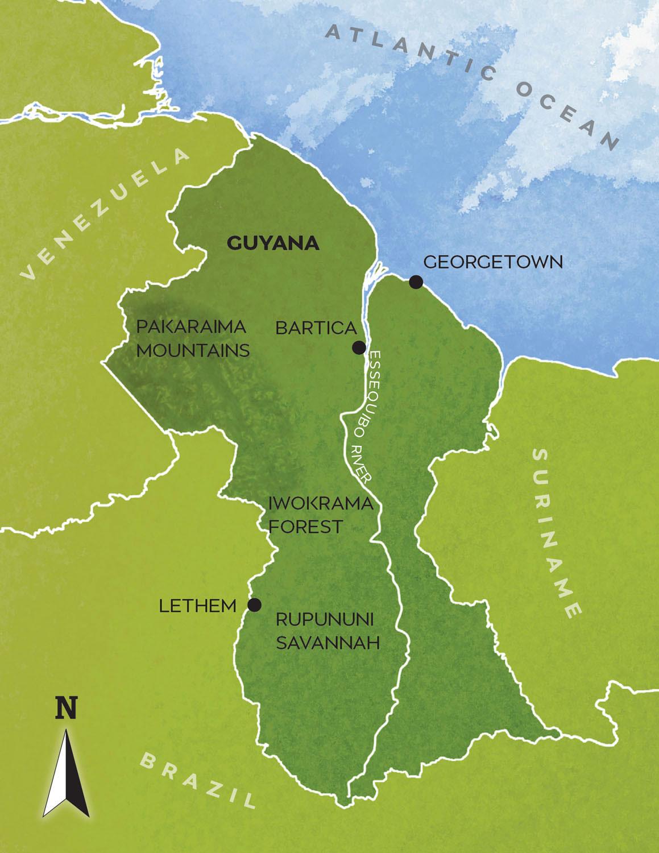 Guyana-map-#162