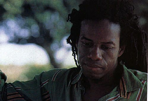 Singer turned producer Eddy Grant. Photograph by Abigail Hadeed
