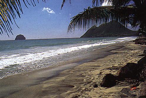 Le Diamant beach, Martinique