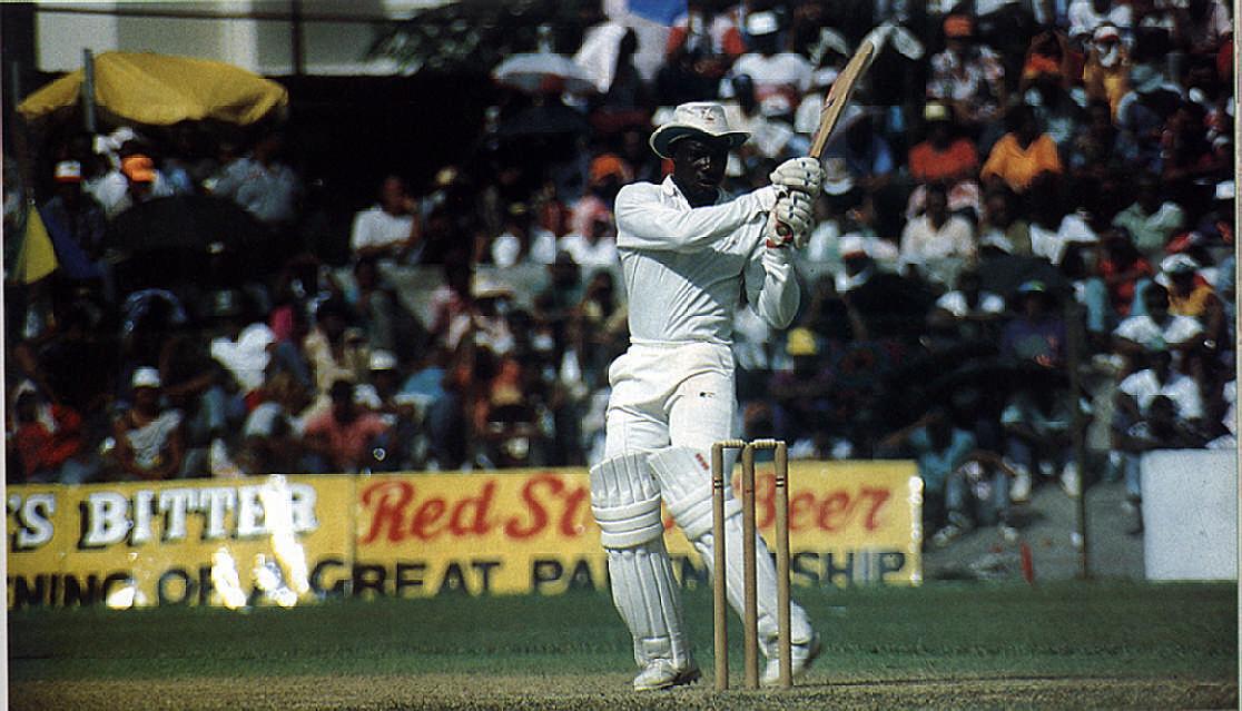 West Indies captain Richie Richardson