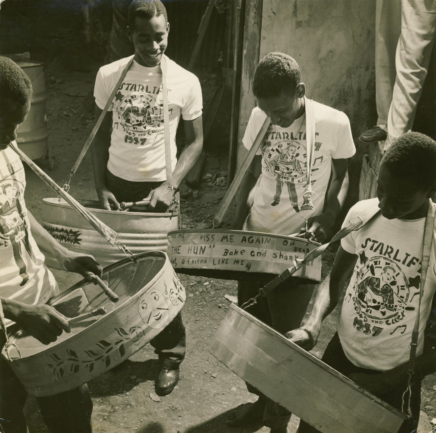 Starlift Steel Orchestra. Photograph courtesy Percy Pitts