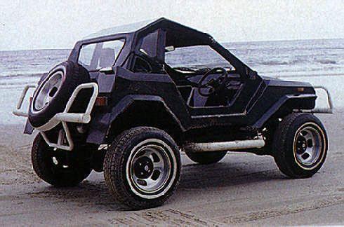 The Caribbean-built BUV