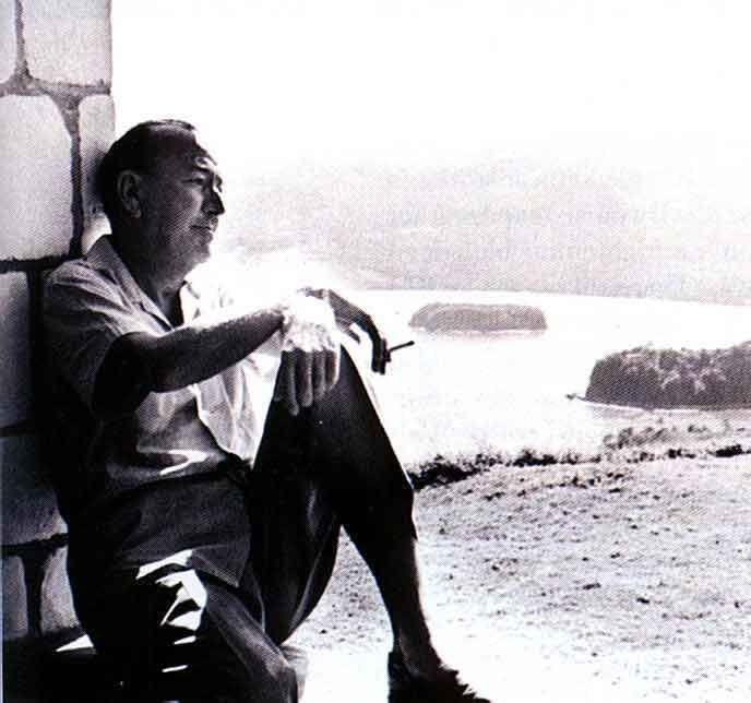 Ian Fleming's neighbour in Jamica was Noël Coward, who built his own retreat, Firefly, nearby. Photograph by Adrian Boot