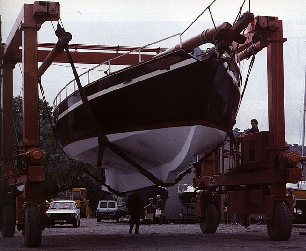 The Ospray in Trinidad, ready to retrace Slocum's Caribbean voyage. Photograph by James Mellor