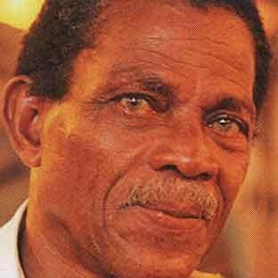 St. Lucian artist Dunstan St. Omer. Photograph by Chris Huxley