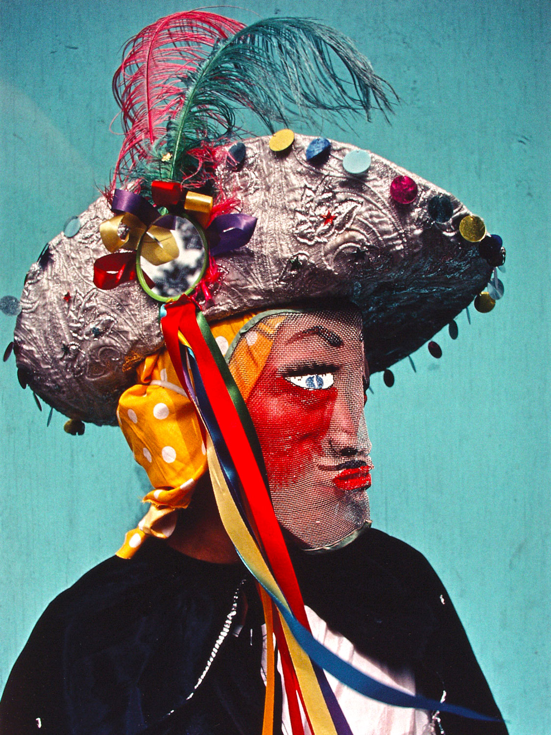 Mask of St James the Apostle, Loíza (1980), by Héctor Méndez Caratini. Image courtesy El Museo Del Barrio