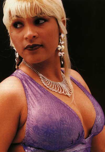 Carlene, the self-styled Undisputed Dancehall Queen. Photograph by Dexter Fletcher