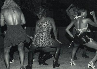 Scenes from Dancehall Queen. Photo by Louis Davis