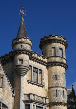 """Stollmeyer's Castle, one of Port of Spain's """"Magnificent Seven"""". Photograph by Mark Lyndersay"""