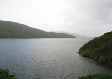 Monos Island and the First Boca. Photograph by Ranji Ganase