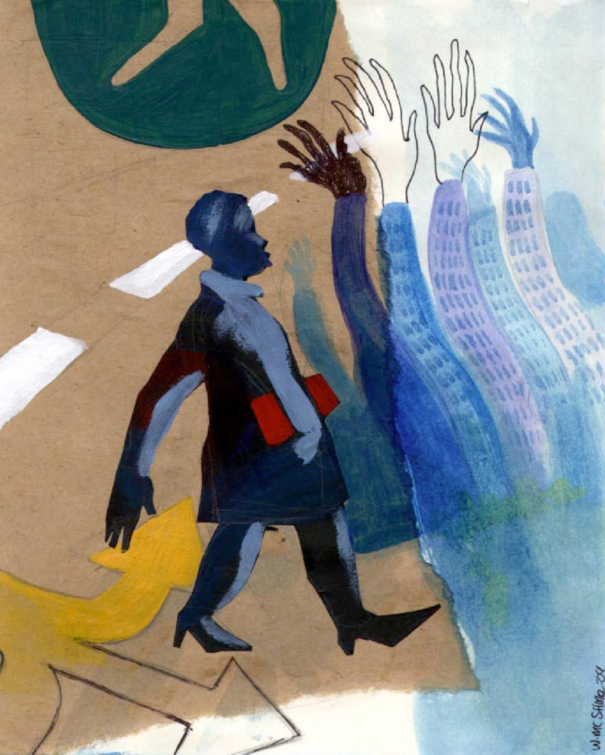 Illustration by Wendell Mc Shine