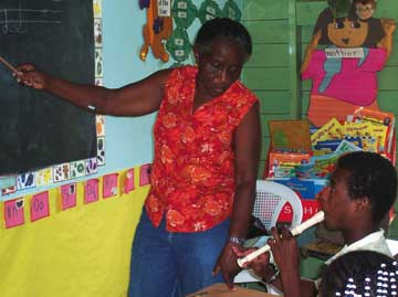 Gloria Edwards. Photograph courtesy FirstCaribbean International Bank