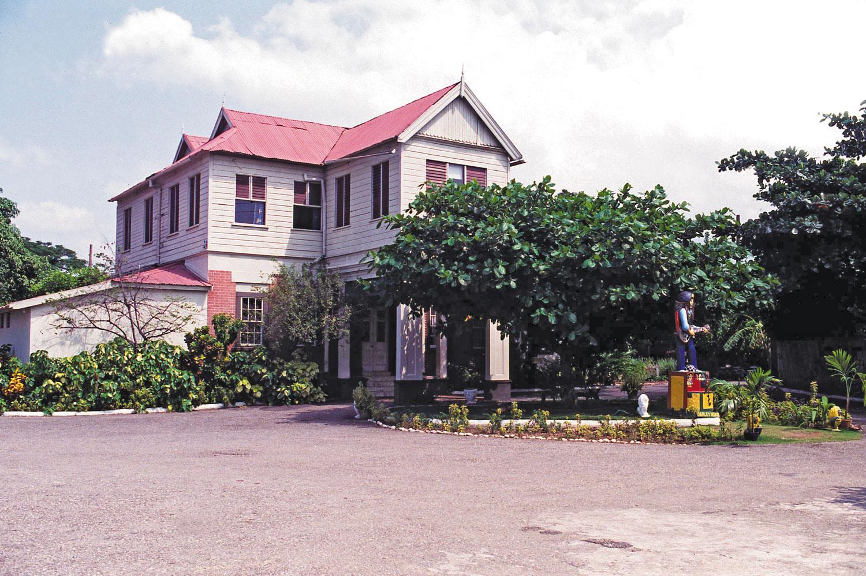 The Bob Marley Museum at 56 Hope Road. Photograph by davidcorio.com
