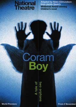 The handbill for Coram Boy. Photograph courtesy National Theatre