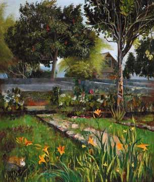 A Victorian Garden. Photograph courtesy Macmillan Caribbean
